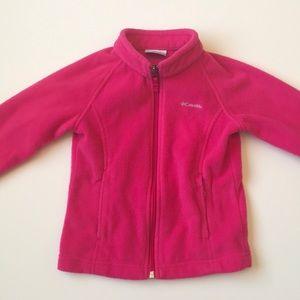Columbia jacket hot pink 4T GUC